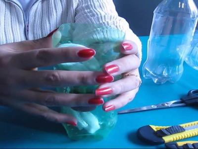 DIY; ¿Como hacer una planta de autoriego con botellas plásticas?