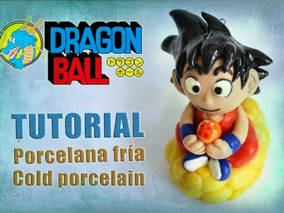DIY - Dragon ball tutorial - Goku polymer clay - porcelana fría - plastilina