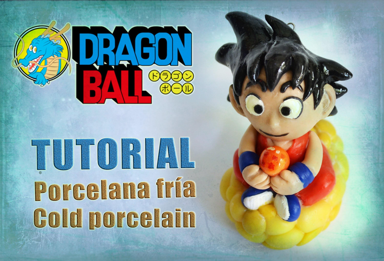 DIY - Dragon ball tutorial - Goku polymer clay - porcelana fría - plastilina