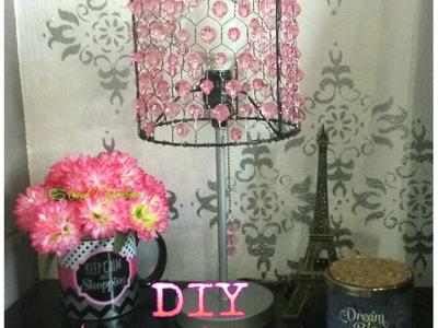 DIY Lámpara Decorativa. Decorative Lamp