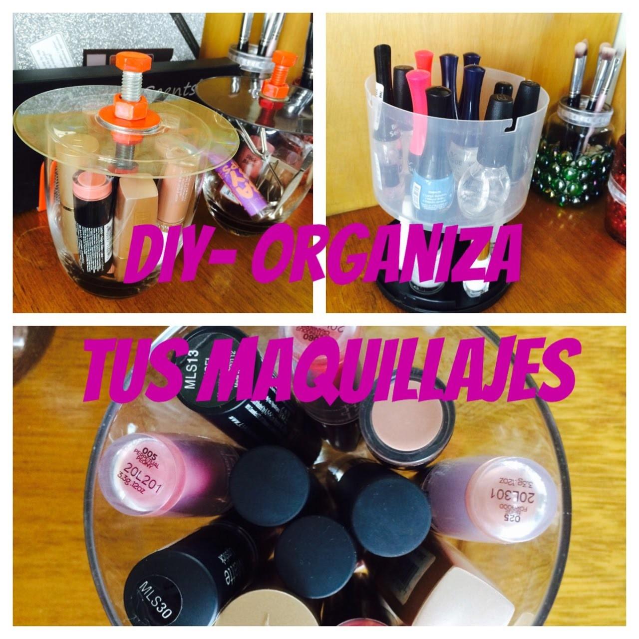 ❤️ DIY - Organiza tus Maquillajes -  segunda parte - Mali ReyesB
