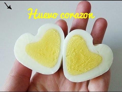 Huevo | heart egg | huevo corazon | comida saludable | comida facil y rapida |  yozlack