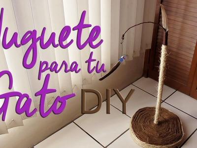 Juguete para tu Gato | DIY. Colaboración con Canal Dalia
