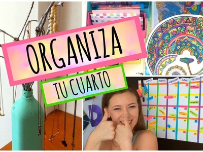 Organiza tu cuarto | DIY