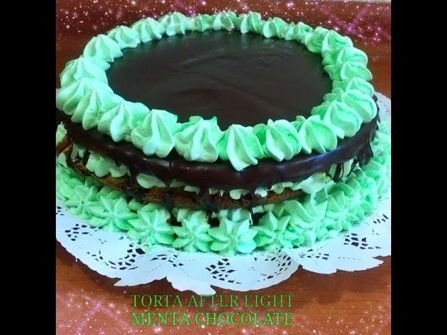 Receta: Torta Menta Chocolate - Silvana Cocina y Manualidades