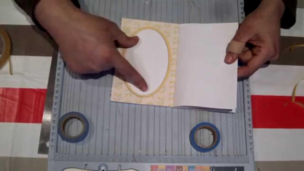 Scrapbooking para principiantes 4: Parte II, cómo hacer una libreta con masking tape.