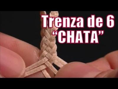 """Trenza de 6 chata """"El Rincón del Soguero"""""""