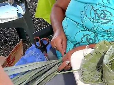 Trenzado artesanal de Palmas y Canastas