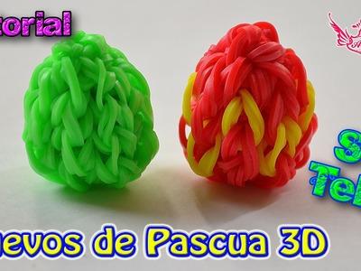 ♥ Tutorial: Huevos de Pascua en 3D (sin telar) ♥