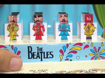 Tutorial Tipo de Impresoras y Tipos de Hojas (The Beatles Tarjeta PopUp)