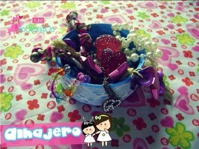 @xoOlexiitOo ❥DIY Alhajero || Manualidades para el Día de las Madres || manualidades recicladas ♥