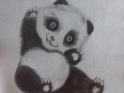 Como dibujar un panda (full HD)