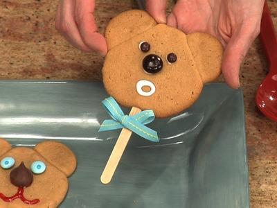 Cómo hacer galletas: Galletas decoradas como oso de peluche