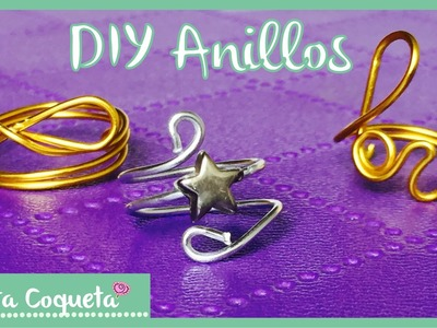 Como hacer tus propios Anillos de moda ✿ DIY