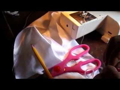 Como hacer una cola de tela