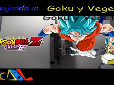 Dibujando a: Goku y Vegeta (2015)