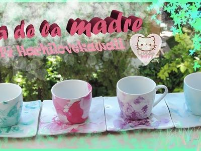 DIY Decora tus tazas y platos! ♥ Girly Day ♥ Hachilovekawaii