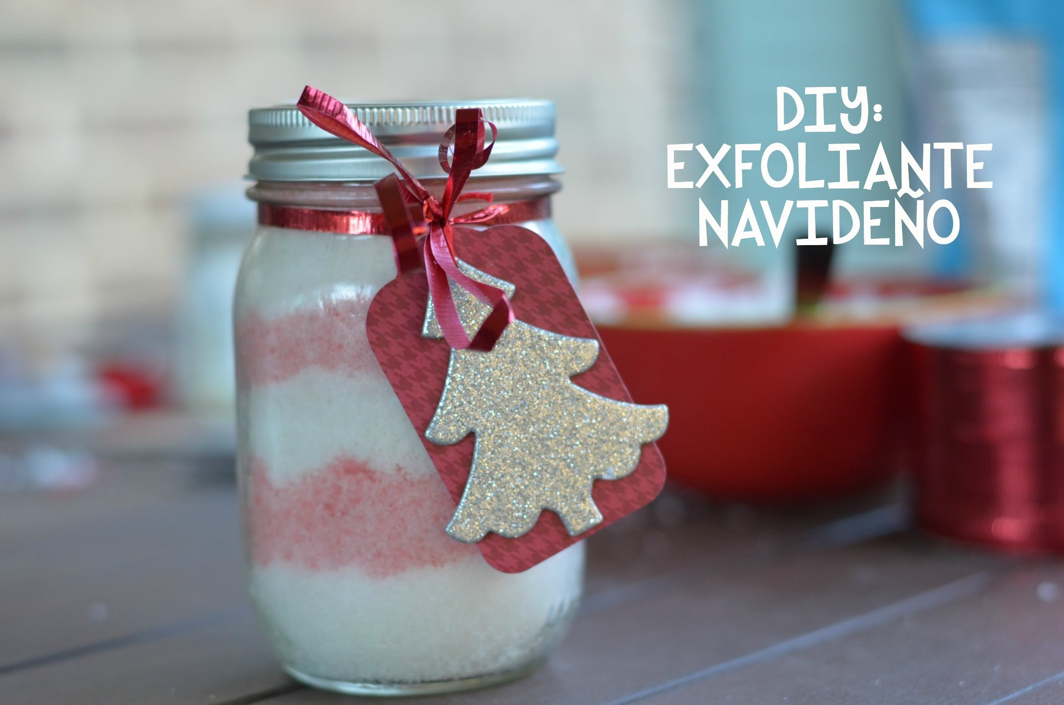 DIY: EXFOLIANTE NAVIDEÑO.