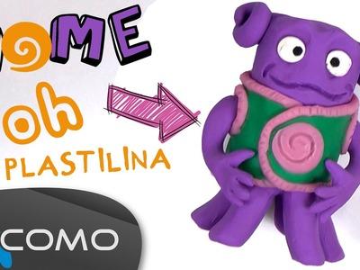 Hacer a Oh (película Home) con plastilina