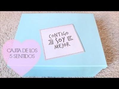 IDEA DE REGALO: CAJITA DE LOS 5 SENTIDOS | Rebeca Terán