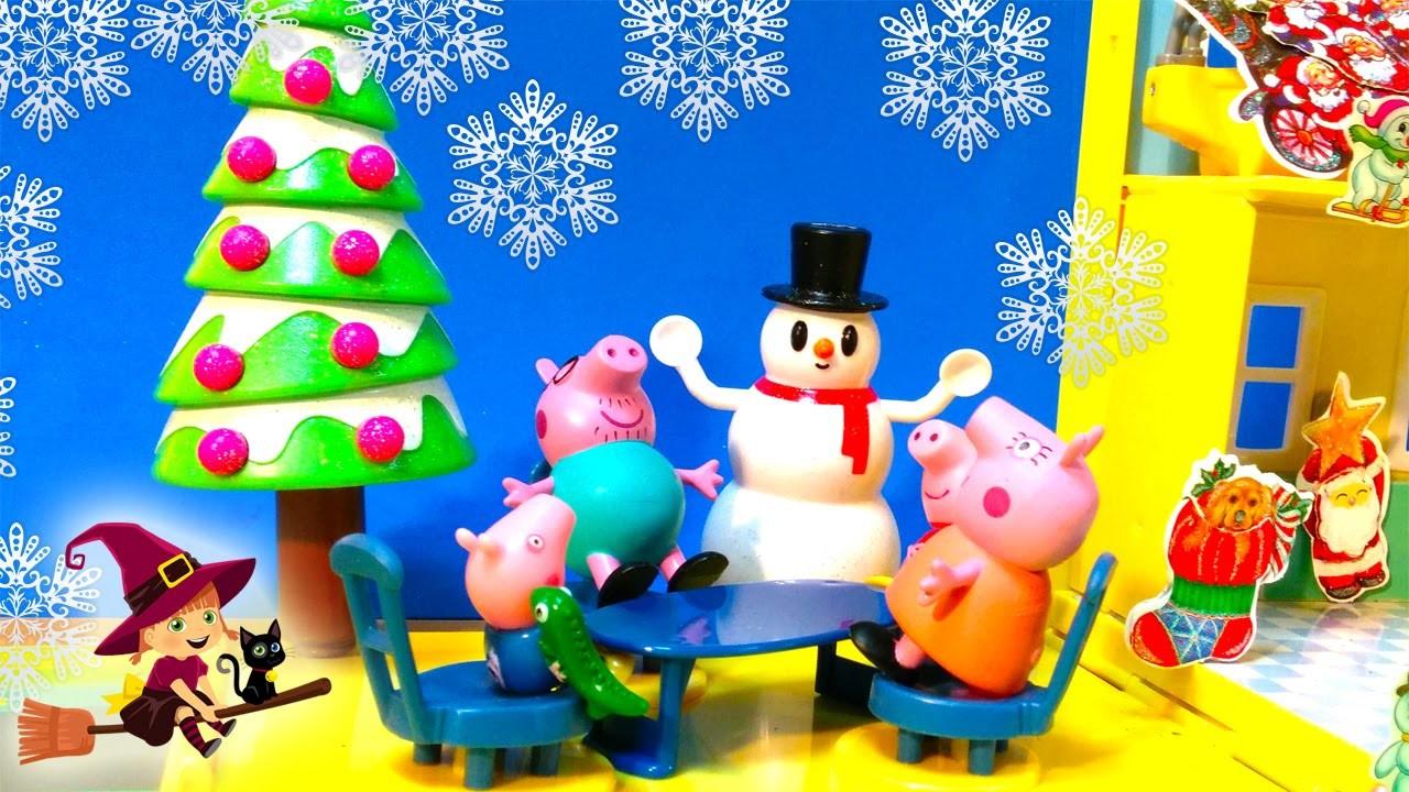 La Fiesta de Navidad en la Casa de Peppa Pig   Papa Noel