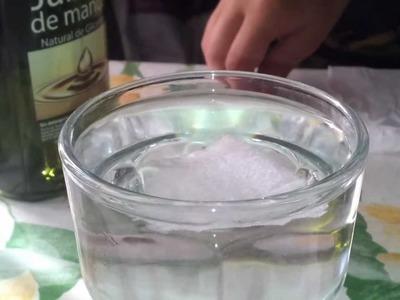 Los efectos del jabón en el agua (Experimentos Caseros)