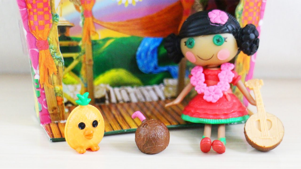 Manualidades para muñecas revisión: Mini Lalaloopsy Doll - Mango Tiki Wiki