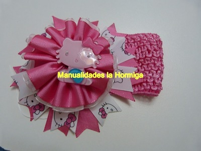 Rosetones como centro de accesorios para el cabello . lazos cabello