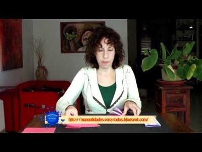 Tarjeta 3D de felicitación con mensaje secreto - Manualidades para todos