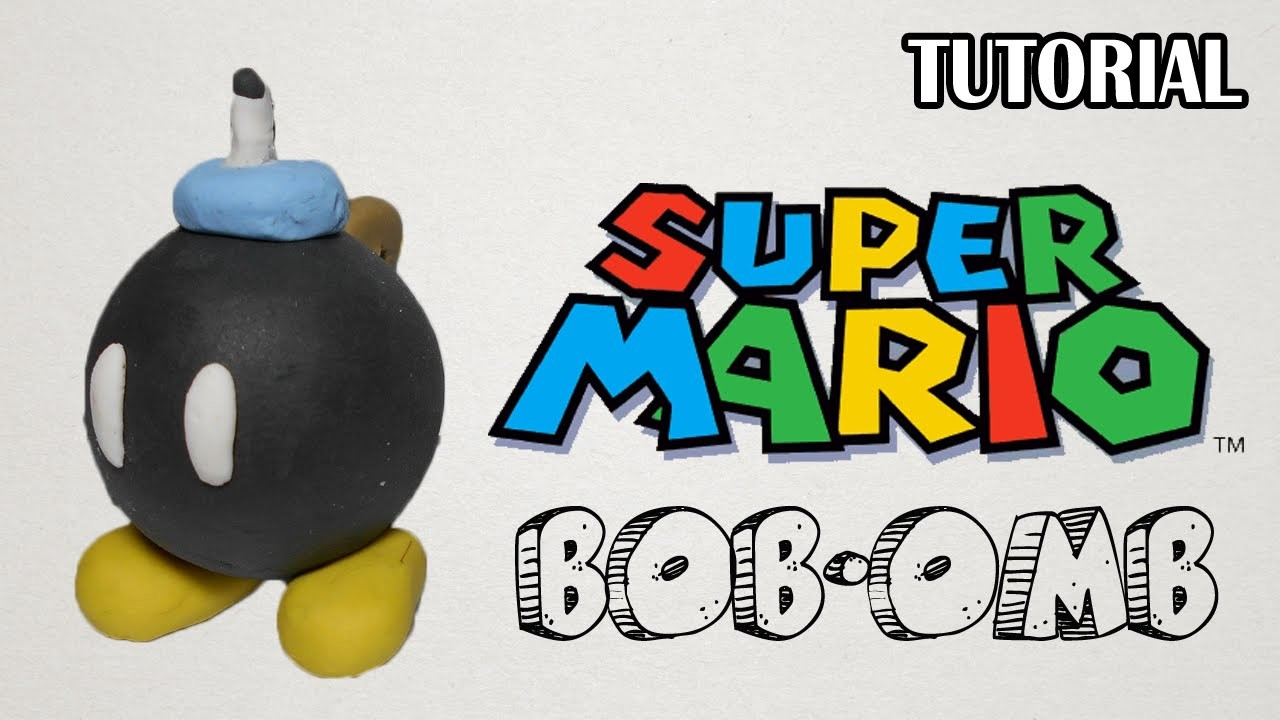 Tutorial Bob-Omb en Plastilina | Super Mario Bros | Bob-Omb Clay Tutorial