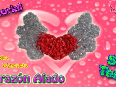 ♥ Tutorial: Corazón Alado de gomitas (sin telar) ♥