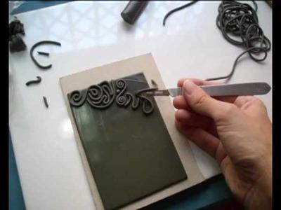 Tutorial textura arcilla polimérica