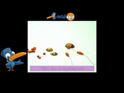 Collares y pulseras. Manualidades infantiles, manualidades con material reciclado