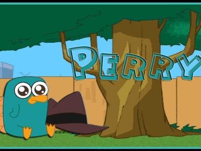 Como hacer a Perry el Ornitorrinco en Cerámica al Frío