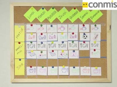 Cómo hacer una tabla del tiempo. Manualidades para niños