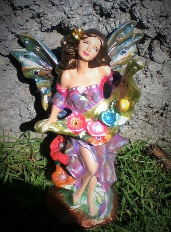 Como pintar una hada de cerámica ceramic painting fairy