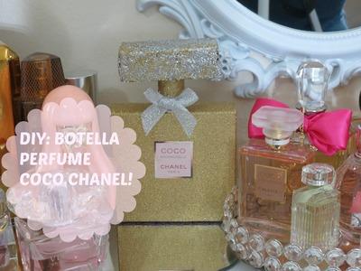 DIY: Botella Perfume Coco Chanel-Decora Tu Area De Perfumes!