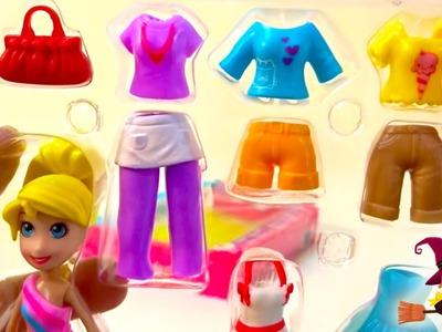 Juegos de Vestir Maletín de Moda de Polly Pocket