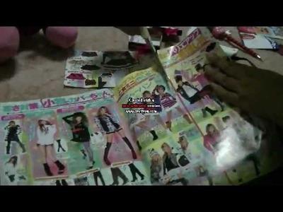 Manualidades: Como Hacer Cofre De Sombras - JuanCarlos960