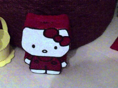 Mis manualidades de la Hello Kitty