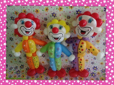 PAYASITO, COMO HACERLO.- HOW TO MAKE A CLOWN BALLOON .