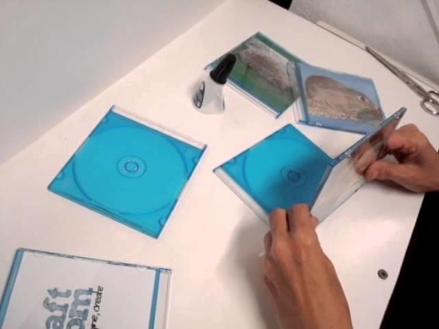 Como hacer un marco de fotos con cajas de cds - Como hacer un marco de fotos original ...