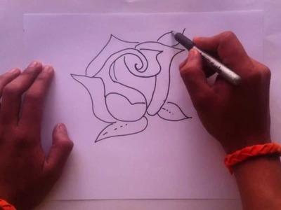 Dibujar una rosa - Consejos para pintar