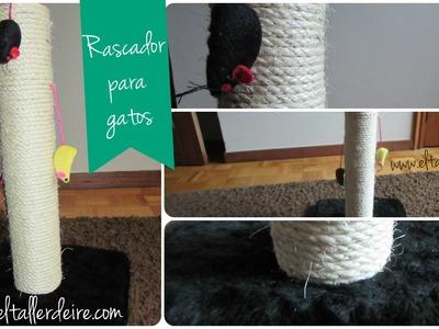 DIY: Rascador para gatos