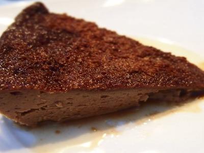 Flan de Chocolate en 5 minutos (Microondas) | Receta Facil