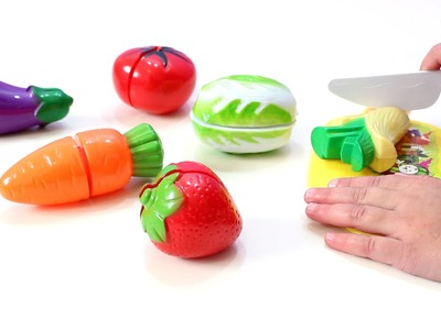 Juguete con Frutas y Verduras para jugar a las cocinitas - Toy kitchen with fruits and vegetables