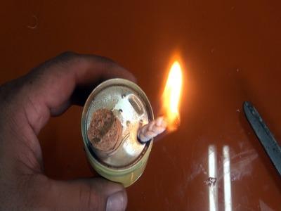 Lámpara de alcohol para emergencias