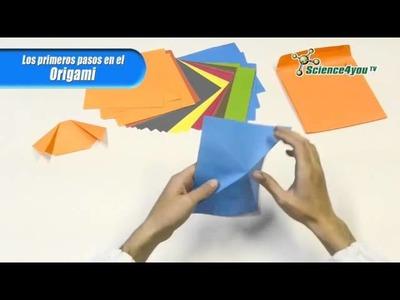 Primeros pasos en el Origami para niños