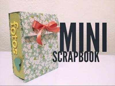 TUTORIAL Mini Scrapbook Regalo Fácil.Easy Gift
