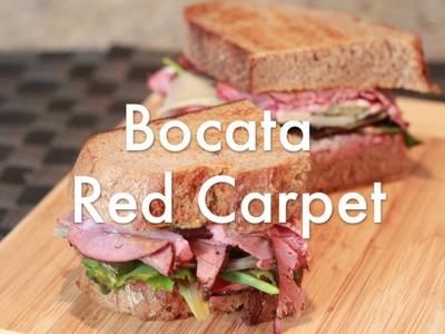Bocata Red Carpet -  Recetas de Sandwiches